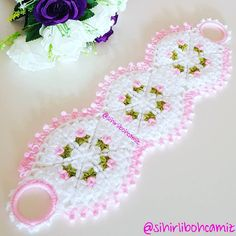 Disposable Face Mask with Earloop, Breathable and Comfortable for Personal Care Protection Masks) Crochet Accessories, Crochet Stitches, Diy And Crafts, Crochet Earrings, Baby Shower, Handmade, Instagram, Personal Care, Crochet Rug Patterns