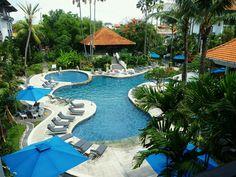 Mooi zwembad @ Bali.. <3 (Sanur Paradise Plaza Suites, Sanur)