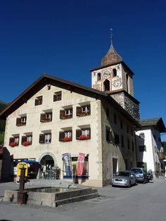 Bergün. Albulatal. Graubünden. Schweiz.