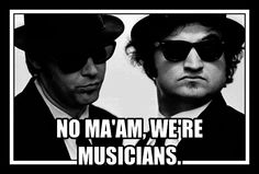 Blues Brothers We're Musicians Art Of Noise, It Goes Like This, Big Screen Tv, Elvis Costello, Blues Brothers, Sarcasm Humor, Film Books, Love Movie, Funny Memes