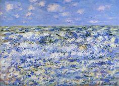 Onde che si infrangono di Claude Monet 1881