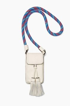 Rebecca Minkoff Isobel Phone Crossbody With Guitar Strap In Antique White Guitar Strap Bag, Neil Young, Mocca, Small Leather Goods, Leather Accessories, Small Bags, Beautiful Bags, My Bags, Mini Bag