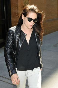 Kristen Stewart street style.