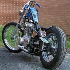Shared by panchomacho on Instagram with description: #Custom #Yamaha #Bobber…