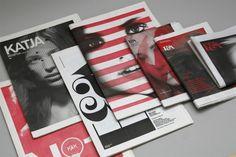 black & white & red