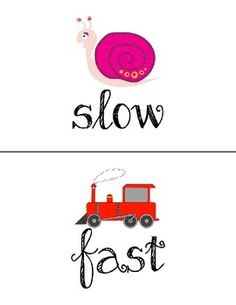 Kodaly Comparatives Signs/Posters There are many examples of slow and fast music in Saint Saens music, Carnival of Animals