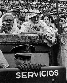 Hemingway en Pamplona durante los Sanfermines