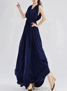 Fashion Style Slim V-neck Solid Color Backless Bohemian Dress-- Click on the picture to order it>>Shop price:US$13.27---#shoes #wholesale #fashion #lovely #cheap #Korean #dress #sexy #clothes