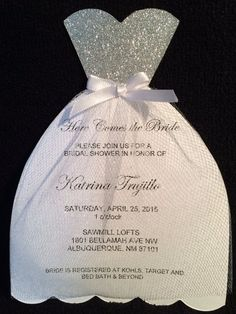 Bridal Shower Invitations by NMfun on Etsy