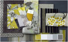 Quirky O&L fabrics & wallpapers