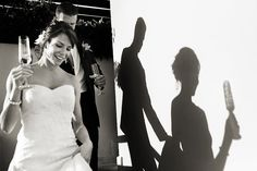 Looks like 2 different photos, light and shadow. #weddingphotography