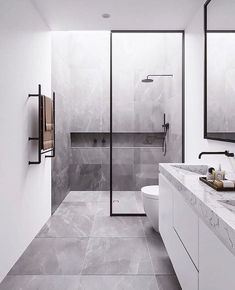 You need a lot of minimalist bathroom ideas. The minimalist bathroom design idea has many advantages. See the best collection of bathroom photos. Minimalist Bathroom Design, Interior Design Minimalist, Modern Bathroom Design, Bathroom Interior Design, Modern Minimalist, Bathroom Designs, Bathroom Ideas, Shower Designs, Bathroom Inspo
