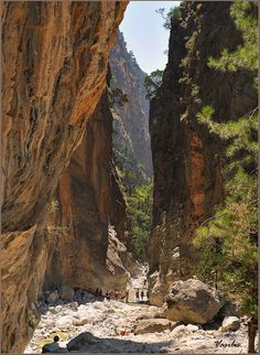 Chania, Samaria gorge, Crete island Photo by Vasilis Greek Islands To Visit, Best Greek Islands, Santorini, Mykonos Greece, Athens Greece, Creta, Crete Island, Greece Islands, Greece Itinerary