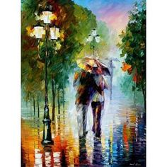 abstract walk in the rain. adult diy paint by numbers kit. adult diy paint by numbers kit. diy painting ideas,diy home decor, diy art projects, diy paintings, diy art canvas Wall Art Pictures, Canvas Pictures, Pictures To Paint, Painting Pictures, Couple Painting, Love Painting, Diy Canvas Art, Acrylic Painting Canvas, Diy Art