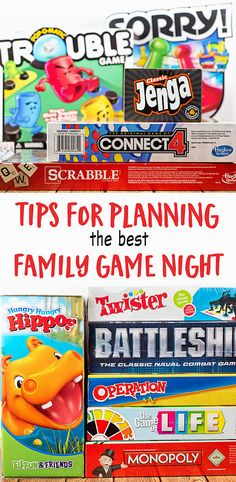 The best activity to help bring your family closer: GAME NIGHT! Here are just a few tips to help you plan the best family game night possible! Family Fun Games, Family Movie Night, Family Activities, Therapy Activities, Game Night Parties, Night Games, Closer, Family Guy, Games For Teens