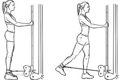 Cable Hip Extensions