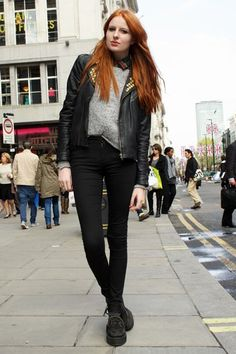 London Street Style May 2012