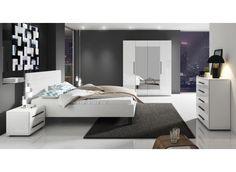 Slaapkamer Hampton 160 - Wit - Groot