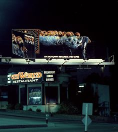 Billboards on Sunset - Marvin Gaye 'Live'