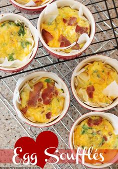 Egg Souffles Recipe! I'm making these this weekend!