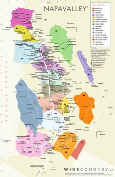 Napa Valley Winery Map by Allure Limo Wine Tours. Tour the wine country of napa valley and choose the best wineries to tour with our napa valley winery map San Diego, San Francisco, Napa Valley Map, Sonoma Valley Wineries, Napa Map, Napa Sonoma, Boot Camp, Wine Tasting Near Me, Santa Helena