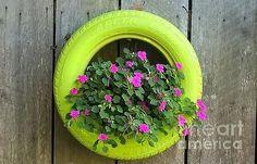 Tire Planters, Flower Planters, Framed Prints, Canvas Prints, Garden Design, Art Photography, Barn, Backyard, Gardening