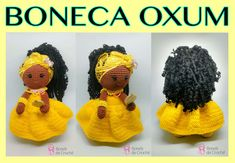 oxum Doll Patterns, Crochet Hats, Dolls, Crafts, Diy, Amanda, Party Crafts, Arts And Crafts, Crochet Mermaid