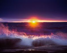 Brighton Beach (Lake Superior) on the North Shore in Duluth Minnesota.