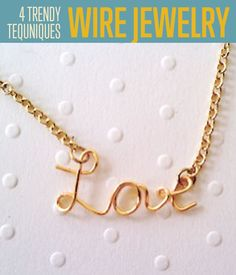 Wire Jewelry Making Techniques | Some amazing ideas for jewelry making that you should try. #DIYReady DIYReady.com
