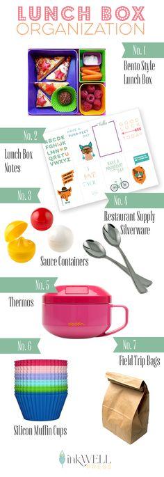Get Organized: Lunch Box Organization