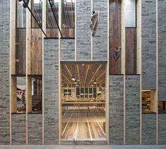 Reciclando madera en la tienda Camper de Shangai|Espacios en madera