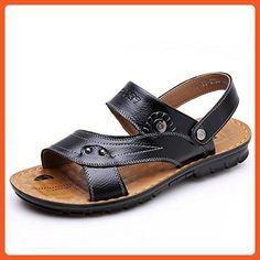 Odema Men's Summer Leather Sports Shoes Outdoor Fisherman Sandals - Sandals for women (*Amazon Partner-Link)