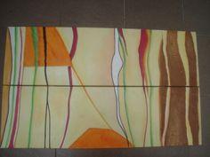 Díptico, em óleo sobre tela 60x80cm.