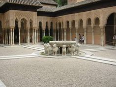 The Alahambra in Granada, Spain