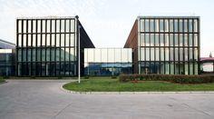 Shanghai Roche Master Plan & Office Building,Courtesy of EXH Design