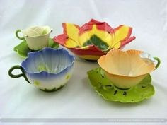 Flower cup- whimsy!