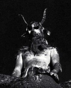 The Goat of Mendes in The Devil Rides Out (Eddie Powell). 1968 House of Hammer