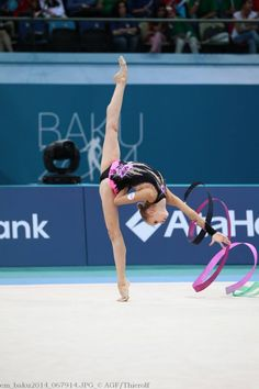Axelle JOVENIN (France) Gymnastics Girls, Rhythmic Gymnastics, Flexy Girls, Ballet, France, Ice Skating, Dancing, Ribbon, Workout