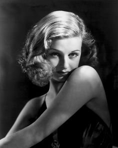 Todays model is 1930s/40s actress Joan Bennet.