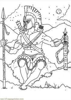 the goddess athena of greek mythology coloring page the goddess athena of greek mythology coloring - Ancient Greek Gods Coloring Pages