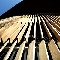 Wooden Louvres Archives - Page 2 of 3 - Levolux Wood Facade, Facade Architecture, Cardiff, Exterior, Detail, Google, Image, House, Home