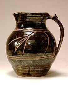 Michael Cardew jug Ceramic Pitcher, Glass Ceramic, Ceramic Mugs, Ceramic Pottery, Ceramic Art, Earthenware, Stoneware, Pottery Workshop, English Pottery