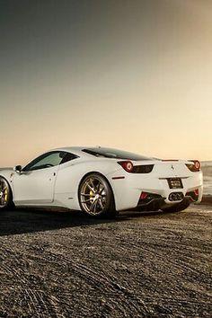 Beautiful White 458~