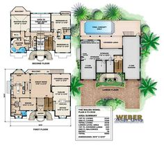 Colored floor plan17