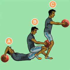 25 must-try medicine ball exercises @ greatist.com