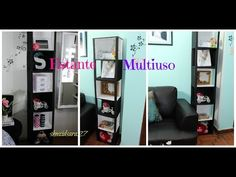 DIY Estantería hecha con Cartón para Libros - TUTORIALES muebles de cartón - YouTube