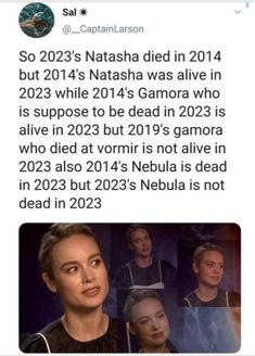 Literally still cannot get over the fact they killed 2013 Nebula but kept 2023 Nebula. Like do you know nothing of the Butterfly Effect? Funny Marvel Memes, Marvel Jokes, Dc Memes, Avengers Memes, Marvel Avengers, Marvel Dc Comics, Chris Evans, Disney Marvel, Film Serie