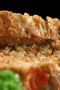 Quick Parmesan Meat Loaf #Recipe