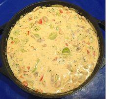 Luckies Rezepte & Leckereien: Hähnchen-Curry-Lauch-Suppe