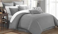 9-Piece Littleton Embroidered Comforter Sets | Groupon
